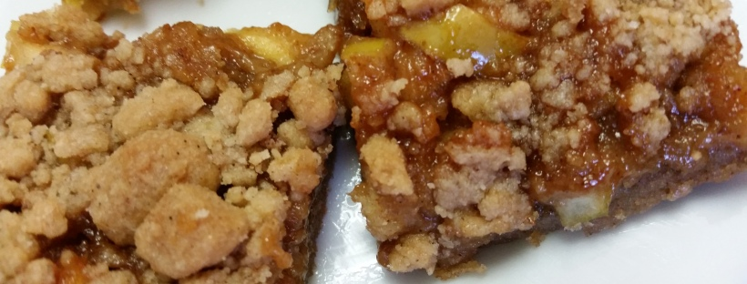 Caramel Apple Bar recipe. Easier than pie!