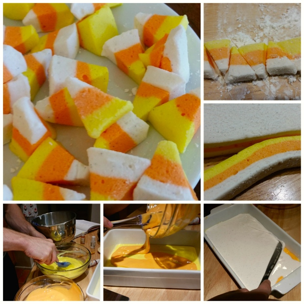 Halloween Candy Corn Collage